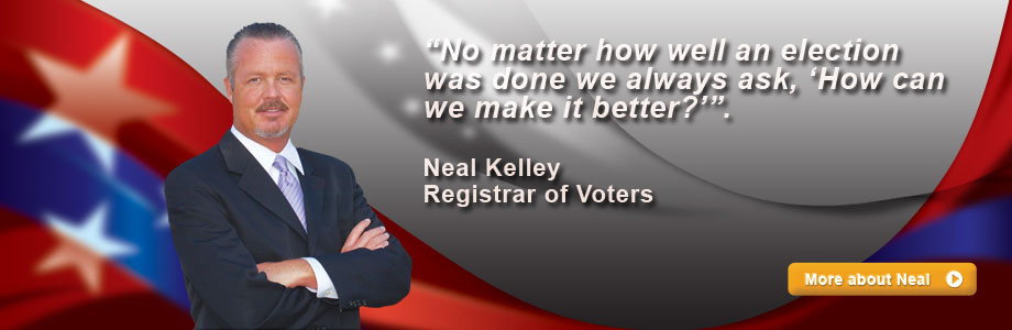 Neal Kelley Registrar of Voters